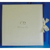 JULIANA AMORE SUEDE FINISH WEDDING DAY COLLAGE PHOTO ALBUM