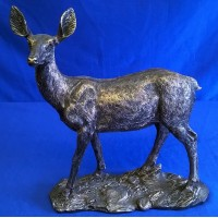JULIANA BRONZE EFFECT DEER