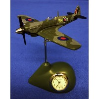 WILLIAM WIDDOP RAF MINIATURE CLOCK – SPITFIRE