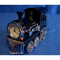WILLIAM WIDDOP MINIATURE CLOCK – STEAM TRAIN
