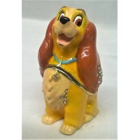 DISNEY CLASSIC TRINKET BOX – LADY – DOG
