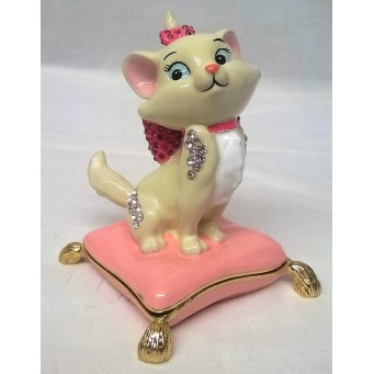 DISNEY CLASSIC TRINKET BOX – MARIE – ARISTOCATS CAT