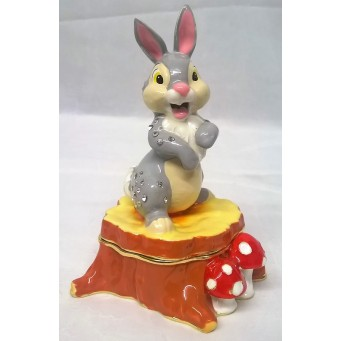 DISNEY CLASSIC TRINKET BOX – THUMPER – RABBIT