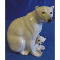 JULIANA NATURAL WORLD POLAR BEAR & CUB