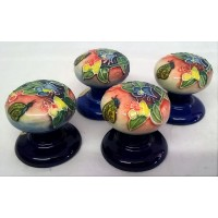 OLD TUPTON WARE BUTTERFLY DOORKNOBS