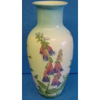 OLD TUPTON WARE ENGLISH GARDEN 21cm VASE