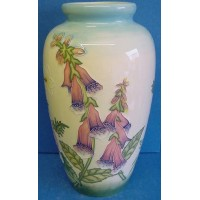 OLD TUPTON WARE ENGLISH GARDEN 28cm VASE