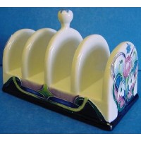OLD TUPTON WARE SPRING BOUQUET TOAST RACK