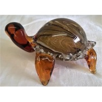 JULIANA OBJETS D'ART ART GLASS TURTLE 62208A