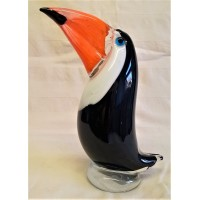 JULIANA OBJETS D'ART ART GLASS TOUCAN 62212B