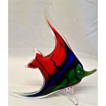 JULIANA OBJETS D'ART ART GLASS ANGEL FISH 60227A