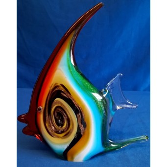 JULIANA OBJETS D'ART ART GLASS ANGEL FISH 61450