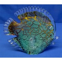 JULIANA OBJETS D'ART ART GLASS BUTTERFLY FISH