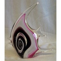 JULIANA OBJETS D'ART ART GLASS ANGEL FISH 60295A