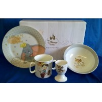DISNEY MAGICAL BEGINNINGS 4 PIECE NURSERYWARE SET