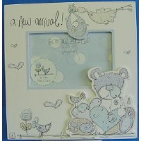 POLKA DOT & CO NEW BABY BOY PICTURE FRAME
