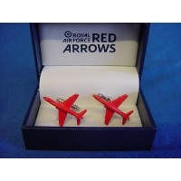 WILLIAM WIDDOP RAF CUFFLINKS SET - RED ARROWS