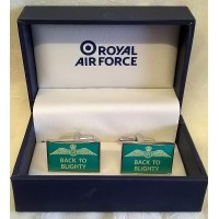 WILLIAM WIDDOP RAF CUFFLINKS SET – BACK TO BLIGHTY