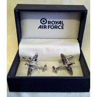 WILLIAM WIDDOP RAF CUFFLINKS SET – HURRICANE FIGHTER