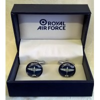 WILLIAM WIDDOP RAF CUFFLINKS SET – HURRICANE BLUEPRINT
