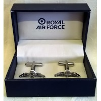 WILLIAM WIDDOP RAF CUFFLINKS SET - RAF WINGS