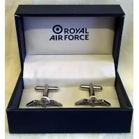 WILLIAM WIDDOP RAF CUFFLINKS SET - RAF WINGS
