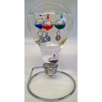 WILLIAM WIDDOP LIGHT BULB GALILEO THERMOMETER