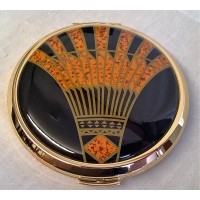STRATTON ART DECO MIRROR COMPACT