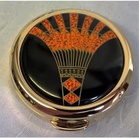 STRATTON ART DECO PILL BOX