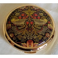 STRATTON WILLIAM MORRIS STRAWBERRY THIEF MIRROR COMPACT