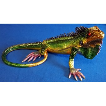 JULIANA TREASURED TRINKETS IGUANA TRINKET BOX