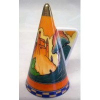 ROYAL WORCESTER ART DECO COLLECTION – CASTLES IN THE AIR CANDLE SNUFFER