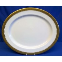 ROYAL WORCESTER C1393 PATTERN 33cm OVAL PLATE