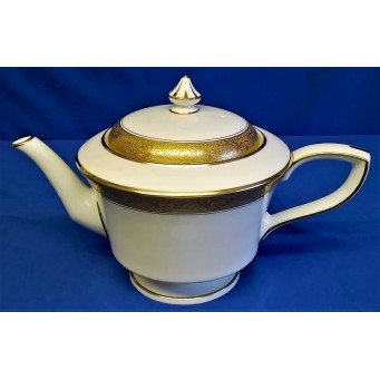 ROYAL WORCESTER C1393 PATTERN TEAPOT