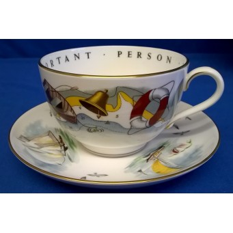 ROYAL WORCESTER VIP CUP & SAUCER – SAILING