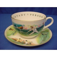 ROYAL WORCESTER VIP CUP & SAUCER – TENNIS
