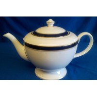 ROYAL WORCESTER HOWARD BLUE LARGE SIZED TEAPOT
