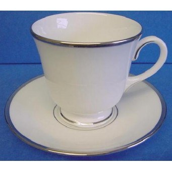 ROYAL WORCESTER MONACO TEACUP & SAUCER