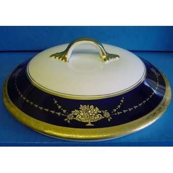 AYNSLEY REGENT VEGETABLE DISH LID – Also suitable for Georgian Cobalt range