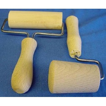 EPPICOTISPAI TWO PIECE BEECHWOOD PIZZA & PASTA ROLLER SET
