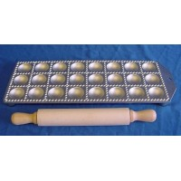 EPPICOTISPAI 40mm ROUND RAVIOLI MAKER & ROLLING PIN SET