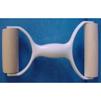 EPPICOTISPAI DOUBLE ENDED BEECHWOOD PIZZA PASTA OR PASTRY ROLLER