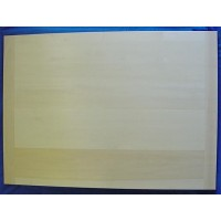 EPPICOTISPAI PROFESSIONAL QUALITY EXTRA LARGE INGOT LIME WOOD PASTA PASTRY BOARD