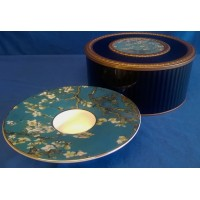 GOEBEL VINCENT VAN GOGH ALMOND TREE CANDLE HOLDER