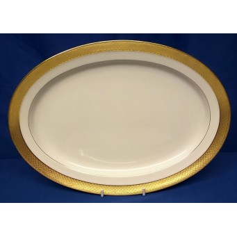 MINTON H1346 PATTERN 28cm OVAL PLATE
