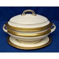 MINTON H1346 PATTERN SMALL TUREEN & STAND