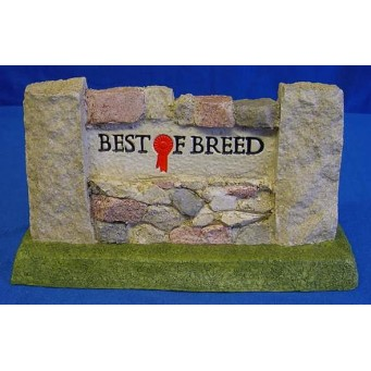 NATURECRAFT BEST OF BREED RETAIL DISPLAY SIGN