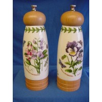 PORTMEIRION BOTANIC GARDEN SALT & PEPPER MILL SET