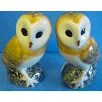 QUAIL BARN OWL SALT & PEPPER SET