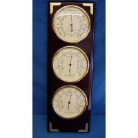 WILLIAM WIDDOP BAROMETER, THERMOMETER & HYGROMETER